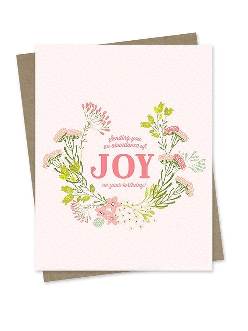 Abundance of Joy