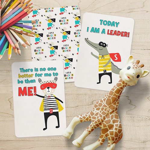 Superhero Children's Affirmation Cards