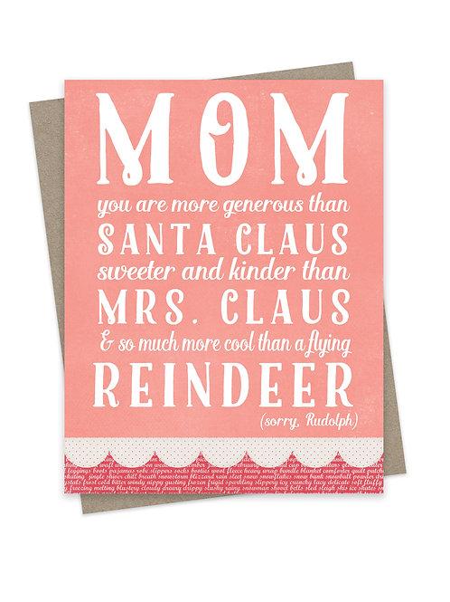 Sorry Rudolph (Mom)