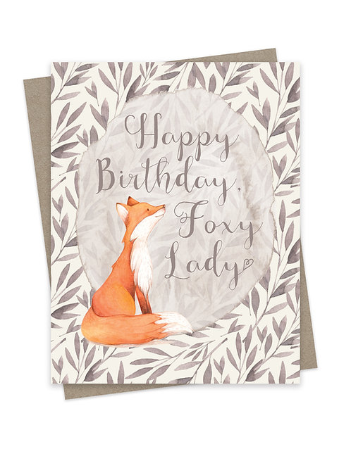 Happy Birthday Foxy Lady