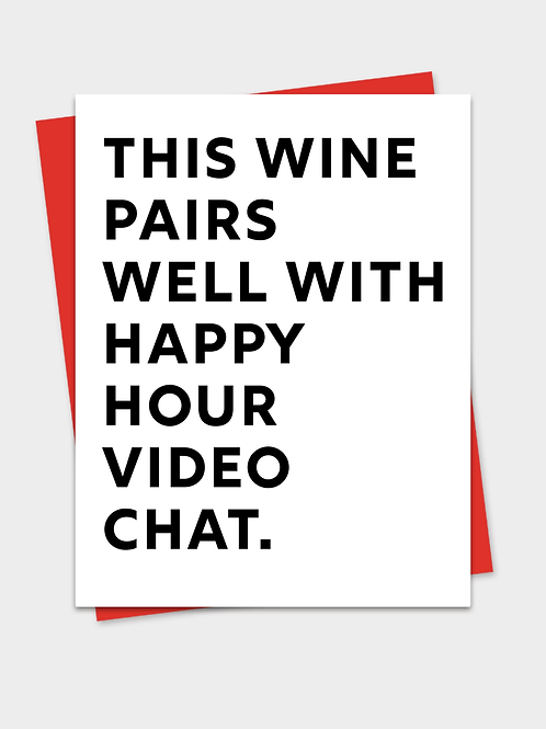 Happy Hour and Video Chat