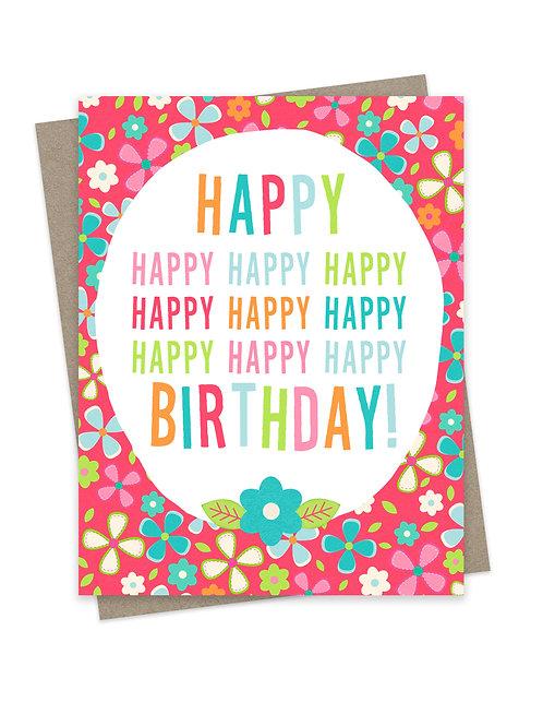 Many Happy Birthday