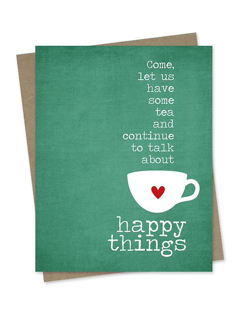 Tea & Happy Things