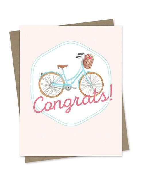 Congrats Bicycle