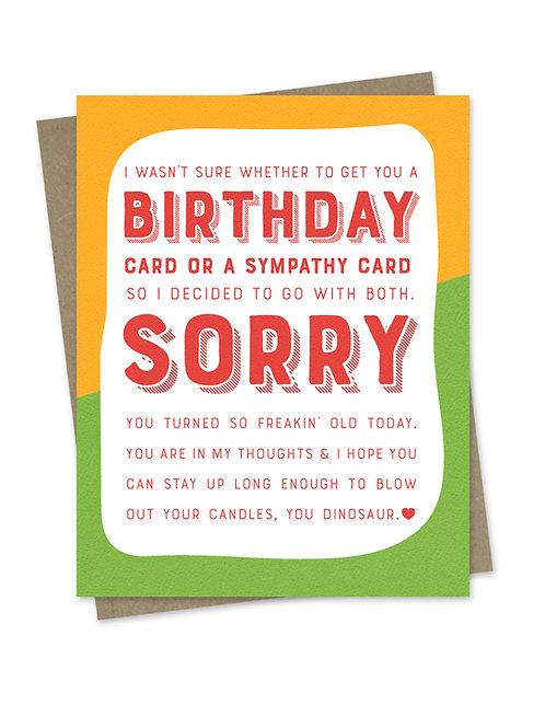 Birthday Sympathy