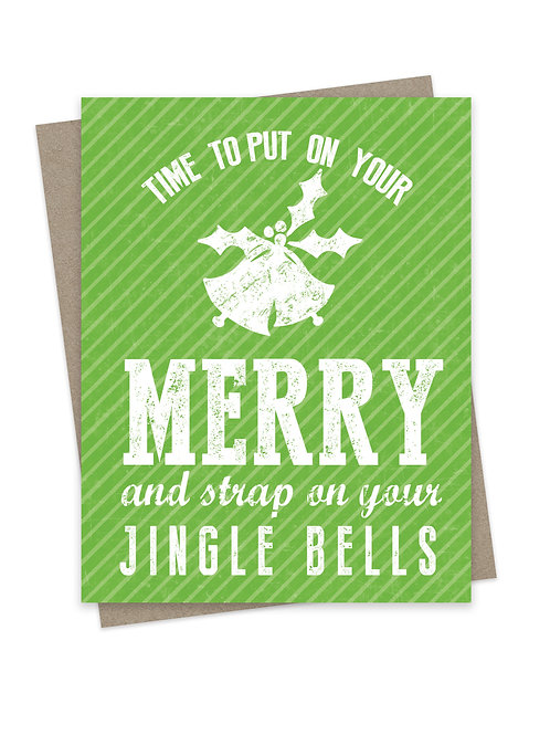 Strap on Your Jingle Bells Green