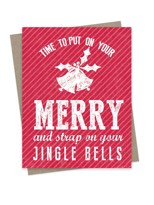 Strap on Your Jingle Bells Light Red