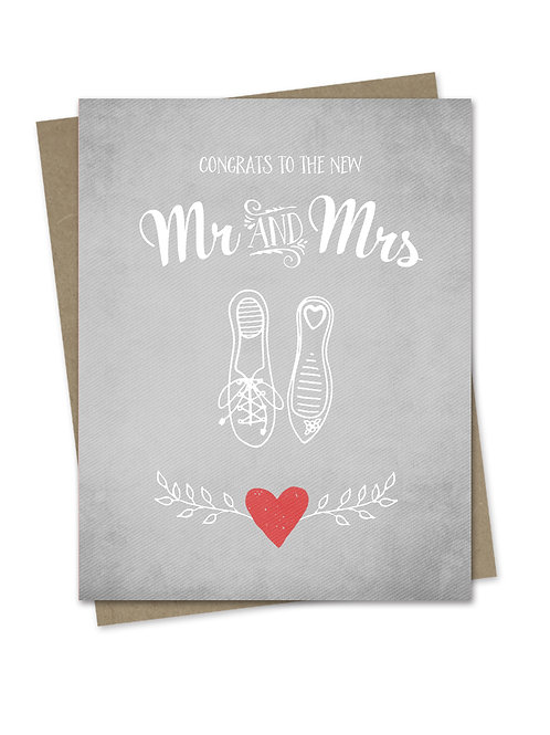Congrats to the Mr and Mrs