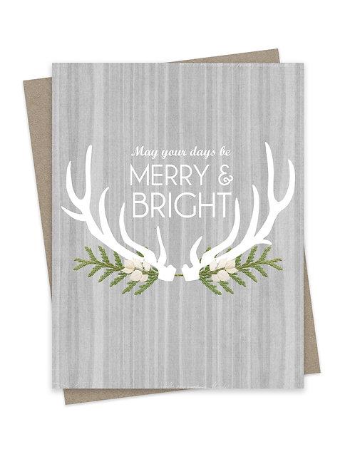 Merry & Bright Gray