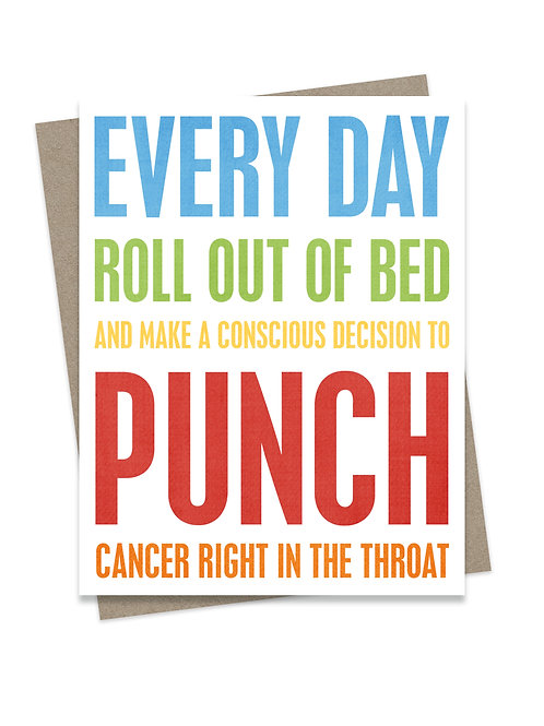 Cancer Throat Punch