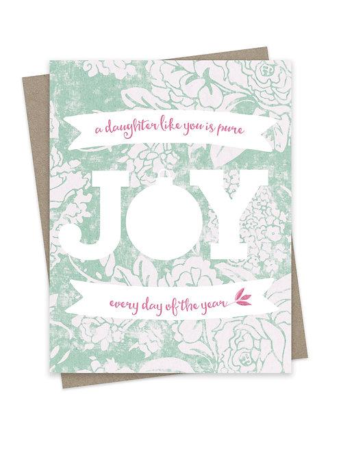 Daughter Joy