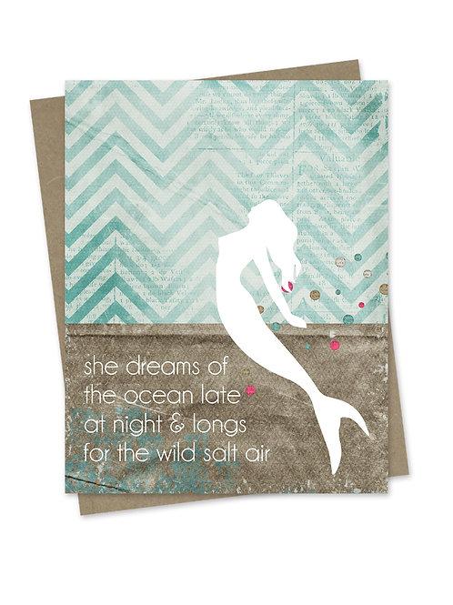 Wild Salt Air Mermaid