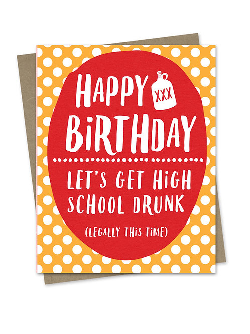 High School Drunk
