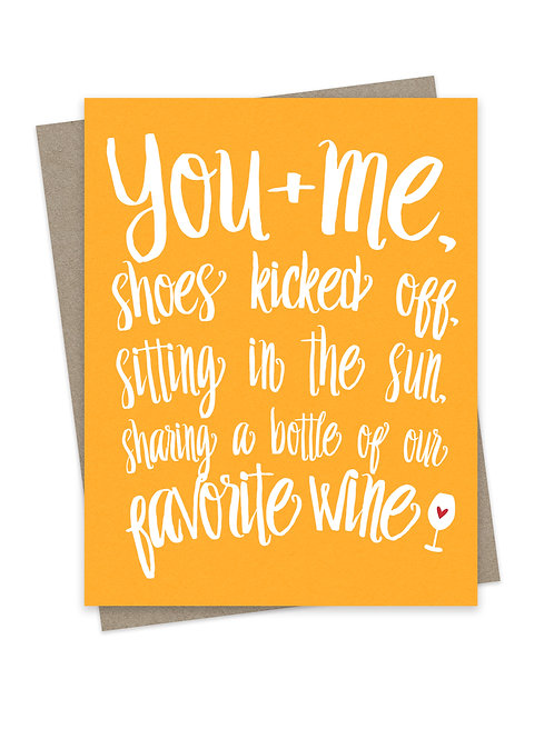 You and Me Shoes Kicked Off