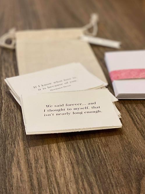 Pocket Size Love Notes