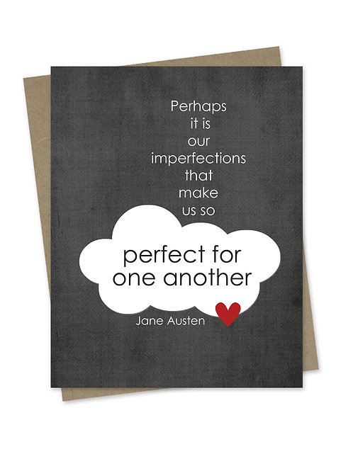 Perfect for One Another