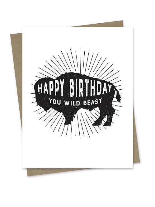 Happy Birthday You Wild Beast