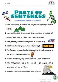 Parts of Sentences