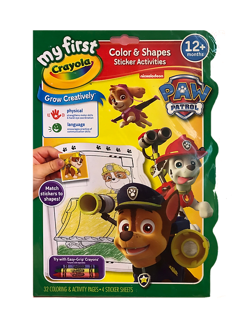 My First Crayola - Paw Patrol Coloring and Activity Book