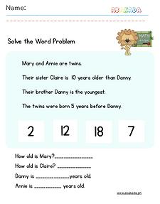 Word Problem 5
