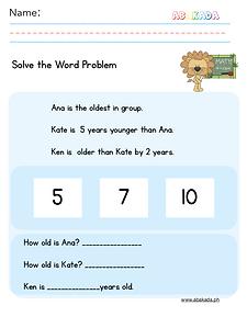 Easy Word Problem 1