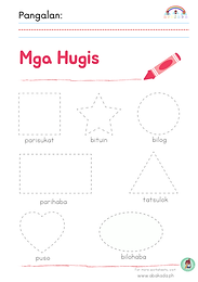 Mga Hugis Worksheet 1