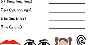 New Pantukoy and Pantig Worksheets