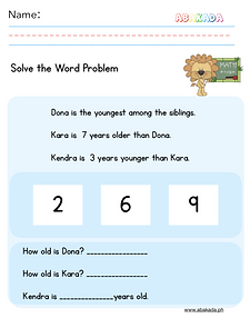 Easy Word Problem 3