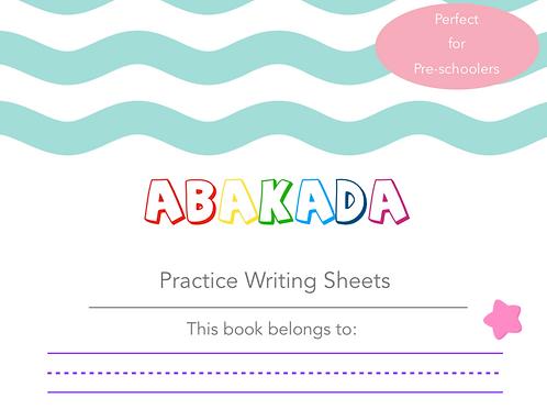Alphabet Writing Sheets