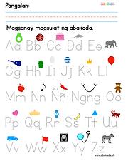 Ang Abakada: Alpabetong Filipino