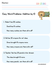 Easy Word Problems