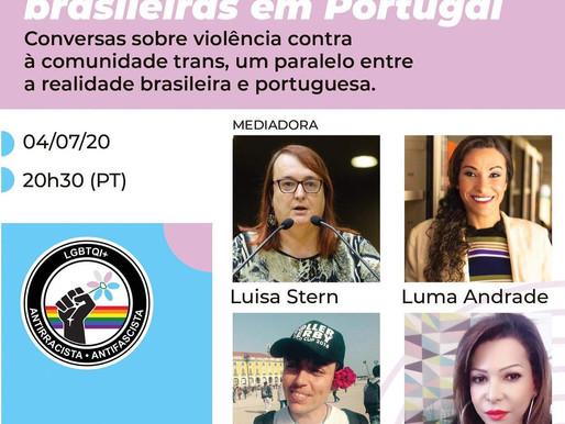 [Online] Vivências Trans Brasileiras em Portugal