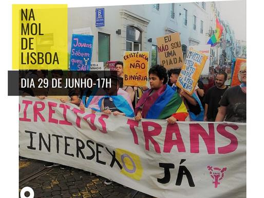 Bloco Trans e Intersexo na MOL