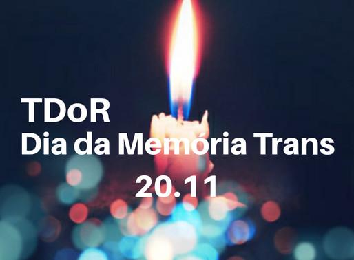 Dia da Memória Trans - Concentração + Jantar/Vigília [Lisboa]