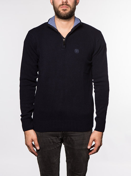 Pull col Zip