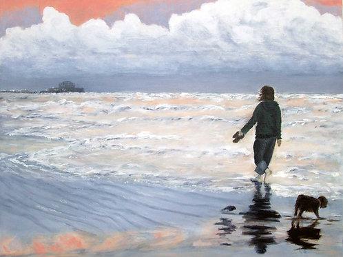 Beach Stroll - Brighton