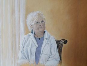 Lesley Rowe - Self Portrait