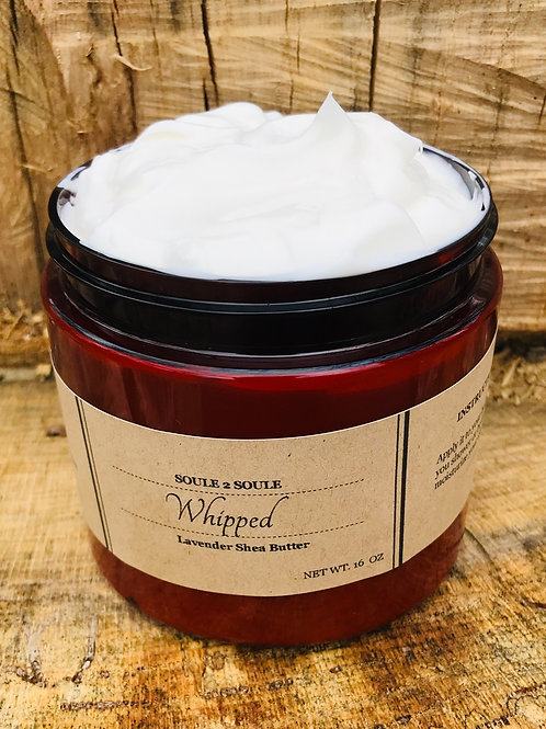 Whipped  Lavender Patchouli Shea Butter