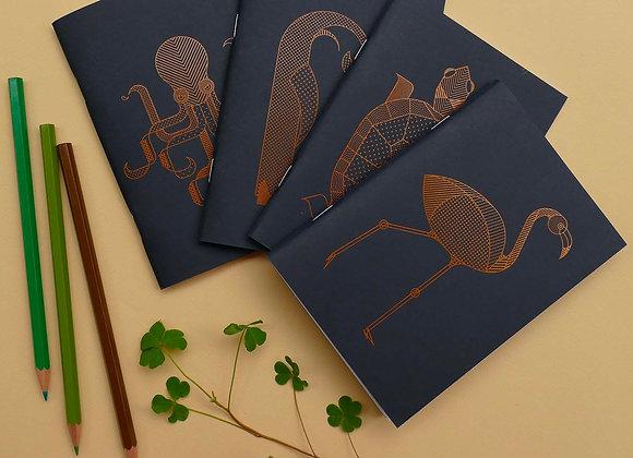 Série Mini-carnets