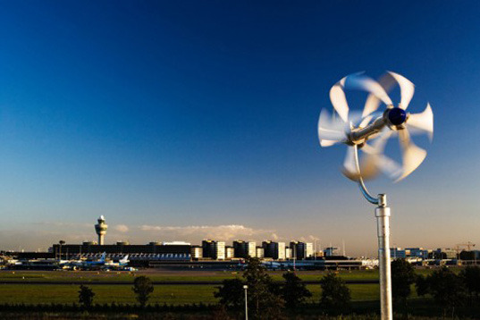 Turbina eólica especial