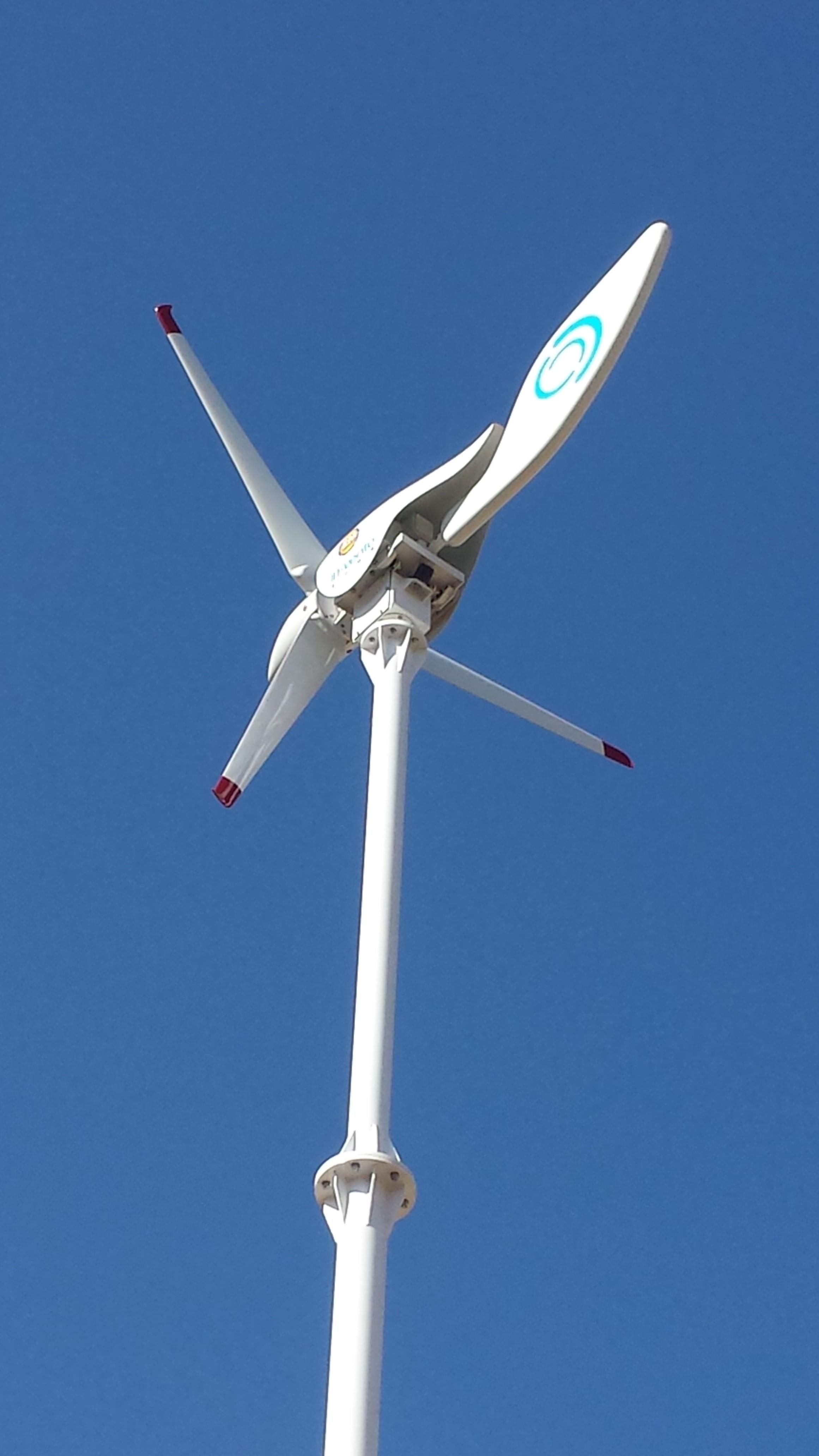 Turbina eólica horizontal