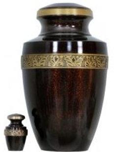 Brass Urn Velvet Box