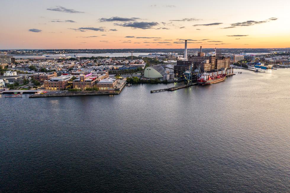 Baltimore Golden Hour