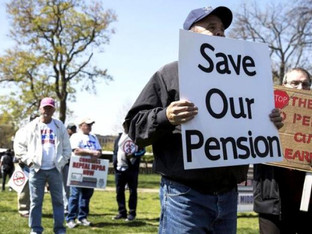 Drained pension fund has retired New York union workers pinching pennies to survive