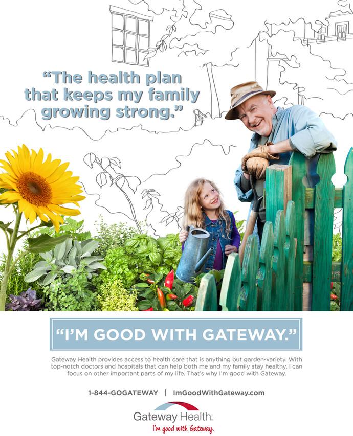 GATEWAY HEALTH PLAN                 Print Campaign