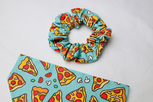 A Pizza My Heart Scrunchie