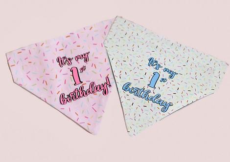 Birthday Sprinkles Bandana