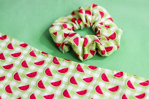 Watermelon Sugar Scrunchie