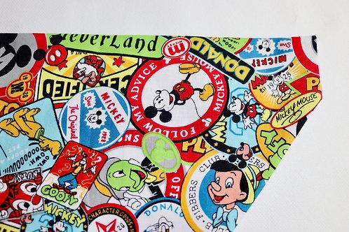 Disney Badges Bandana