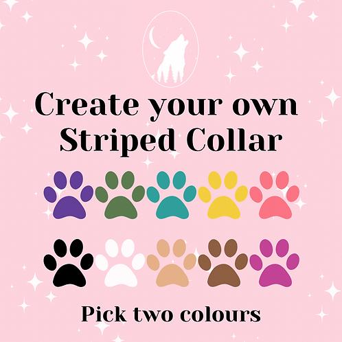 Striped Collar (multiple colours)